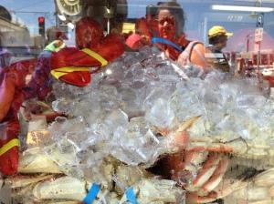 Das Wichtigste beim Fisherman's Wharf: Crab