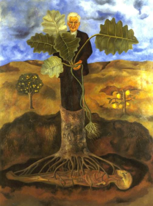 Frida Kahlos Portrait von Luther Burbank