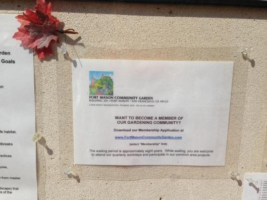 8 Jahre Wartezeit zum Community Gärtner