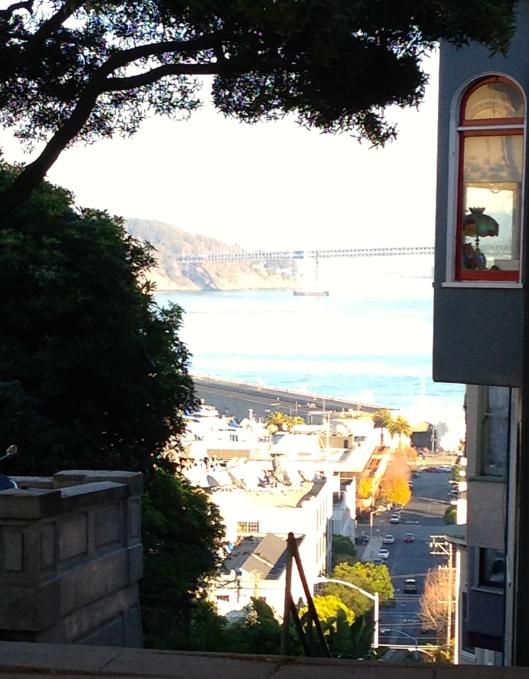 Blick an der Vallejo Treppe