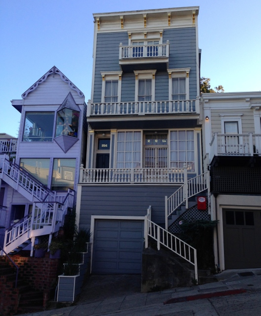 Das älteste Haus des Blocks: immerhin 1861