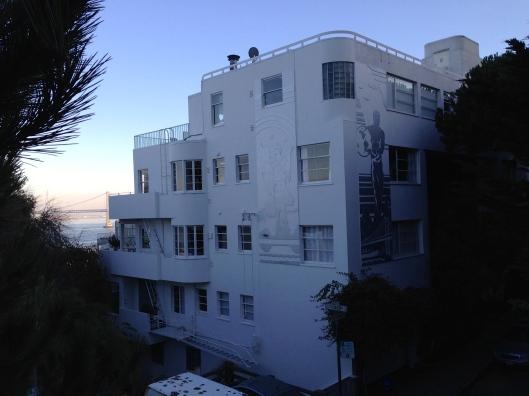 """Das Gebäude war Kulisse in """"Die schwarze Natter"""" mit Humphrey Bogart (1947)"""